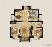 世茂新五里河2室2厅1卫118平方米户型图