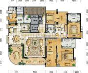 凤凰谷3室3厅3卫367平方米户型图