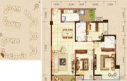 嘉州新城・滟澜洲3室2厅1卫0平方米户型图