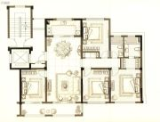 中梁首府壹号院4室2厅2卫135平方米户型图