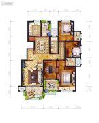 东城・中央公园4室2厅3卫0平方米户型图