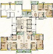 欧雅公馆101--117平方米户型图