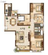 曲靖恒大绿洲4室2厅2卫148平方米户型图