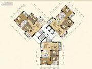合创新城125--133平方米户型图