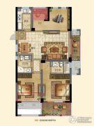 宁兴・上院3室2厅2卫118平方米户型图