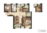 康桥悦岛2室2厅1卫89平方米户型图