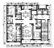 远洋公馆3室2厅3卫260平方米户型图