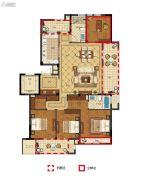 丽江半岛4室2厅2卫139--167平方米户型图