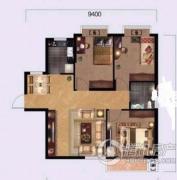 奥山世纪城3室2厅1卫0平方米户型图