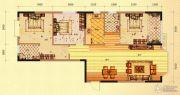 未来城11号3室2厅2卫134平方米户型图