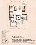 芭东海城3室2厅2卫170平方米户型图