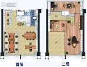 富力天海湾0室0厅0卫90平方米户型图