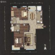 越秀星汇云锦3室2厅2卫170平方米户型图