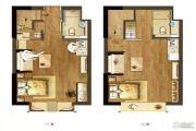 星悦城1室1厅0卫25--45平方米户型图