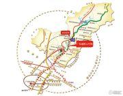 珠光御景山水城交通图
