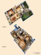 创源无想墅4室2厅3卫222平方米户型图