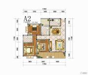 向阳花香3室3厅2卫125平方米户型图
