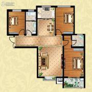 方晖・京港国际3室2厅2卫127平方米户型图