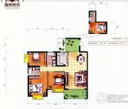 罗马景苑・逸景湾3室2厅2卫0平方米户型图