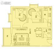 恒利沃德小镇2室1厅1卫78平方米户型图