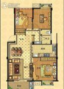 茂新四季枫景3室2厅2卫0平方米户型图