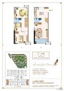 三盛托斯卡纳3期3室2厅2卫53平方米户型图