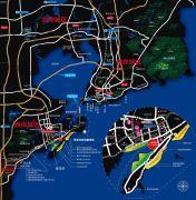 青岛恒大金沙滩交通图