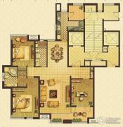 远见3室2厅2卫173平方米户型图