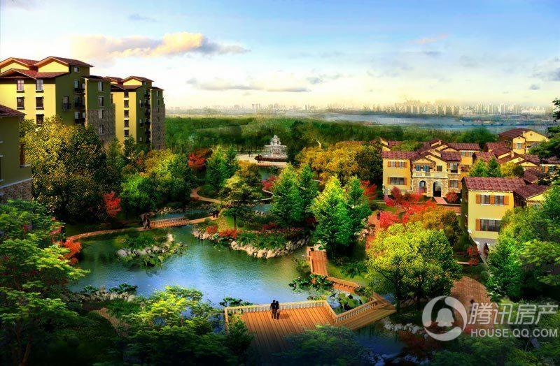 萨拉曼卡中央水景效果图