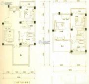 大理银海山水间3室2厅2卫103平方米户型图