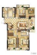 中天铭廷4室2厅2卫125平方米户型图