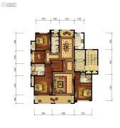 融创富春壹号院4室2厅3卫0平方米户型图