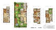 三盛・国际海岸4室3厅4卫0平方米户型图