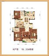 锦绣江南4室2厅2卫0平方米户型图