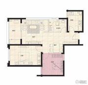 阳光100国际新城2室2厅1卫85平方米户型图