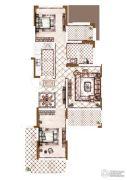 奥伦达部落五云山2室2厅1卫0平方米户型图