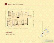 华夏阳光5室2厅3卫142平方米户型图