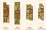 翰林世家5室4厅5卫240平方米户型图
