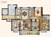 京都悦府4室2厅2卫131平方米户型图