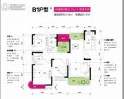 润和之悦4室2厅2卫119平方米户型图