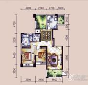 �L凰68院3室2厅2卫128平方米户型图