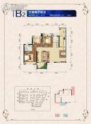 邦泰・国际社区(北区)3室2厅2卫91--106平方米户型图