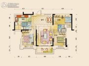 碧桂园公园壹号3室2厅2卫125平方米户型图