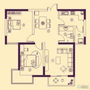 阳光花苑2室2厅1卫89平方米户型图