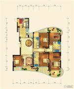 金隅观澜时代5室2厅3卫218平方米户型图