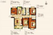 物华澜菲溪岸4室2厅2卫142平方米户型图