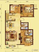 红海湾3室2厅2卫0平方米户型图