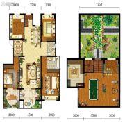 宝能水岸康城3室2厅2卫149平方米户型图