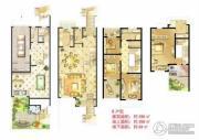 诚河新旅城3室2厅3卫290平方米户型图