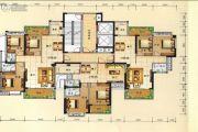 兴业花园2室2厅2卫95平方米户型图
